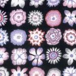 Kaffe Fassett Button flower contrast