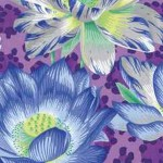 Philip Jacobs Leopard Lotus Purple